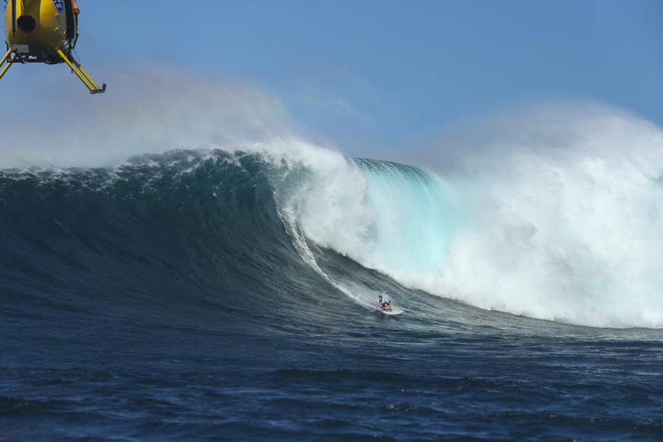 This season's Pe'ahi Challenge consisting of slightly less carnage than the year before.