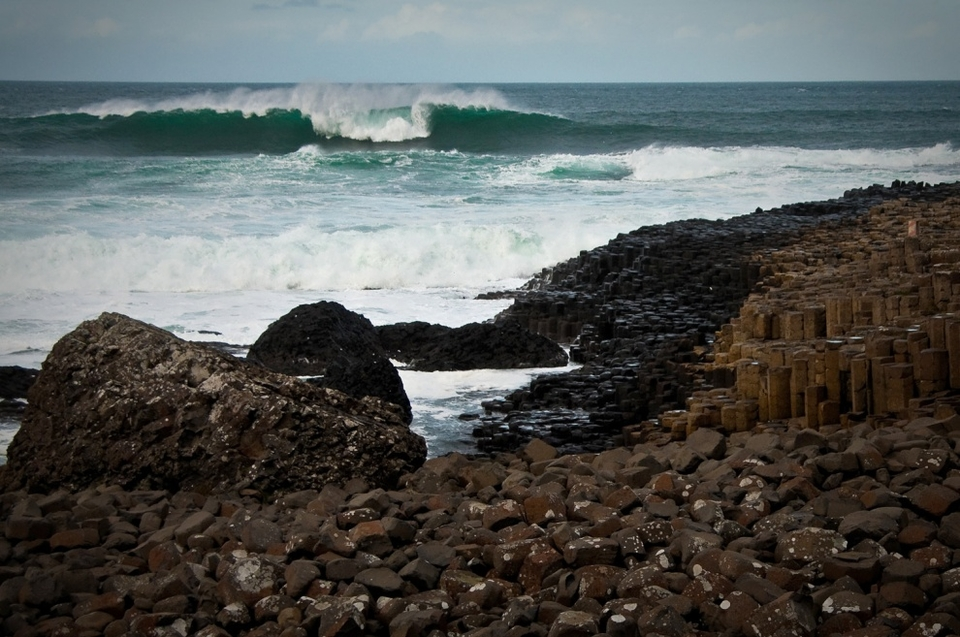 Al Mennie and Andrew Cotton are merrily pushing the boundaries of Irish big wave surfing, seemingly pioneering a new spot every week, including the now infamous XXL nominee  Prowlers . For this trip they collared Brit pro Lyndon Wake plus photog support from  Gary McCall  and  Conn Osborne .