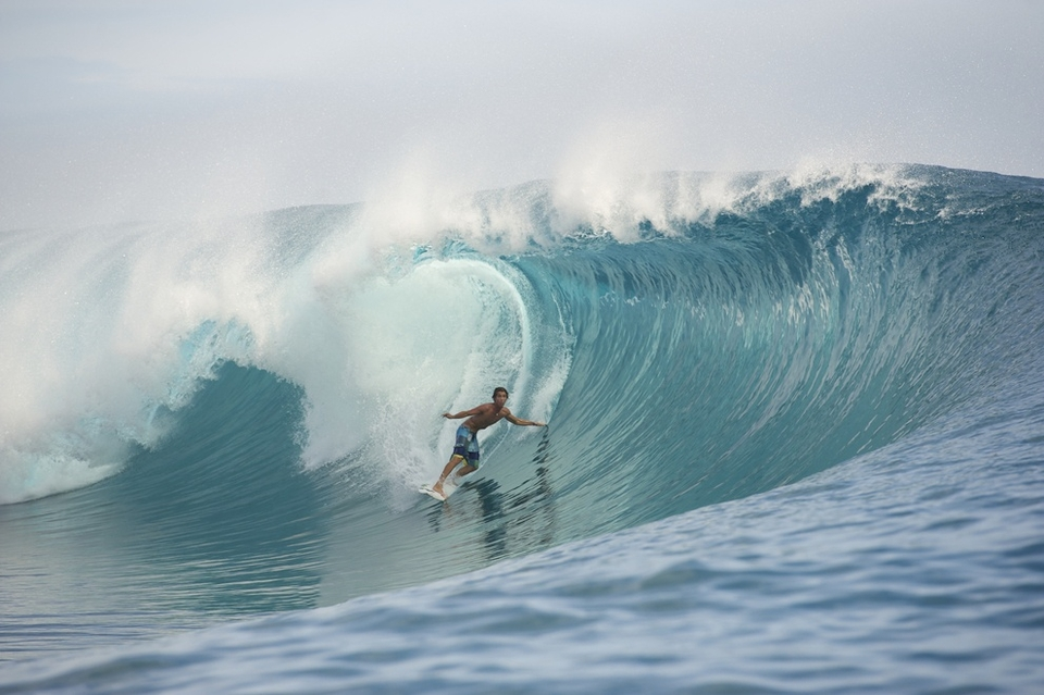 Evan Geiselman was in town for a Red Bull trip and scored some of the best waves of his life.
