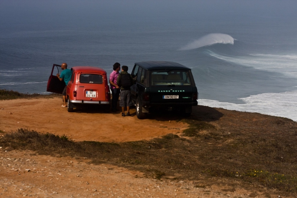 This isn't your usual big wave reef out to sea, it's a beachbreak.