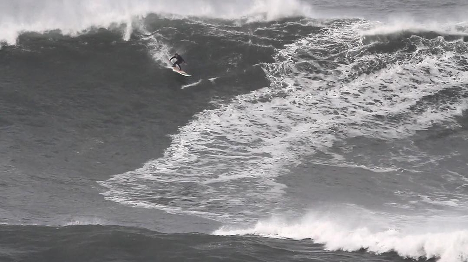That day at Nazare.