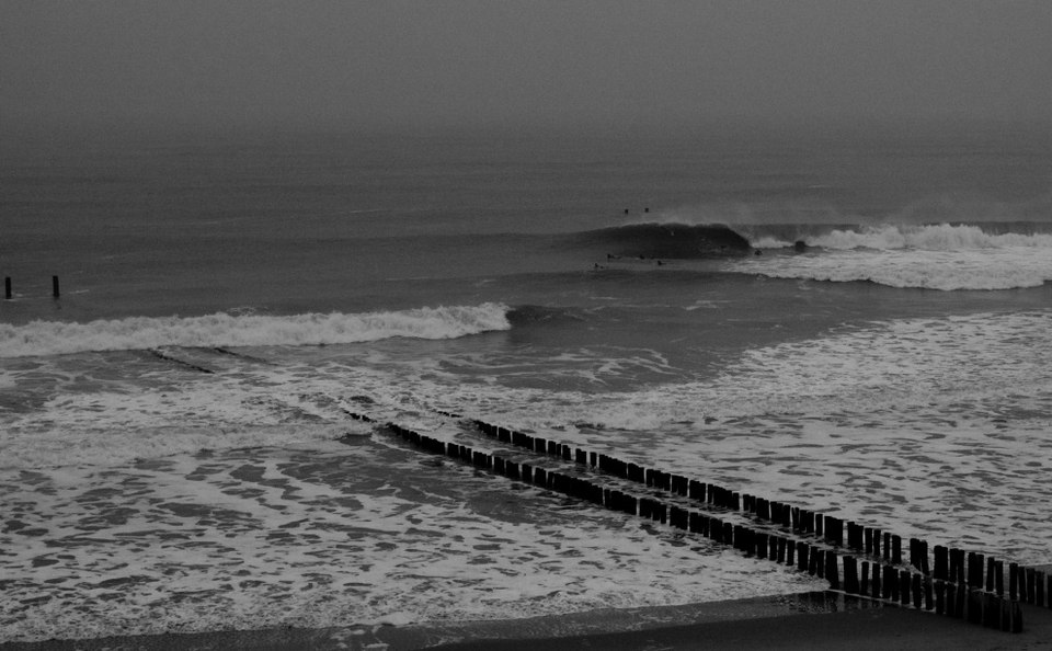 There's definitely no surf in Holland which makes this photo from  Danny Bastiaanse  pretty special.