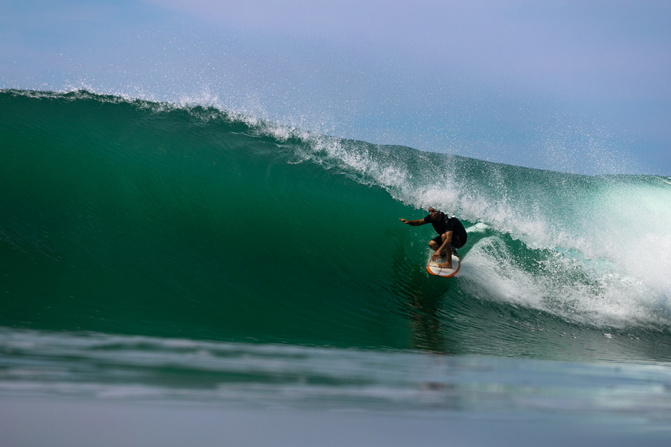 Tyler Reid rounds out your trio of surfing protagonists, with Sarah Lee behind the lens.