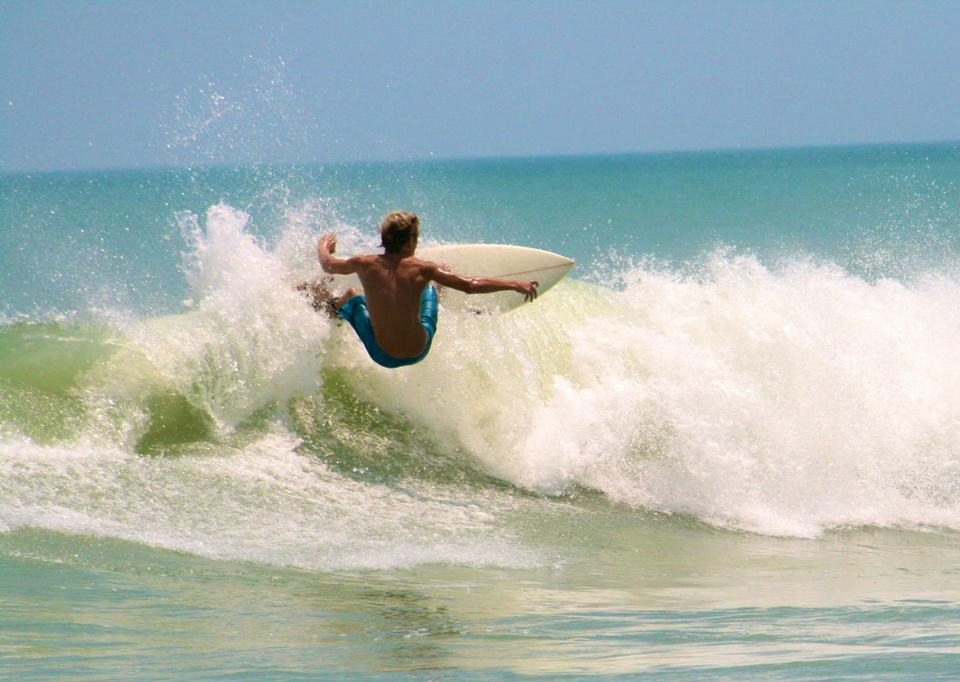 Logan Walsh getting some speed on a small one by Breezy Bagwell.    More  here