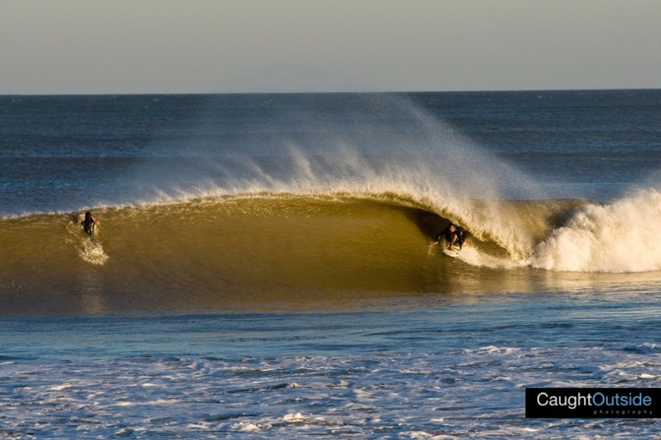 C.T. getting deep in Bay Head, New Jersey.   More  here