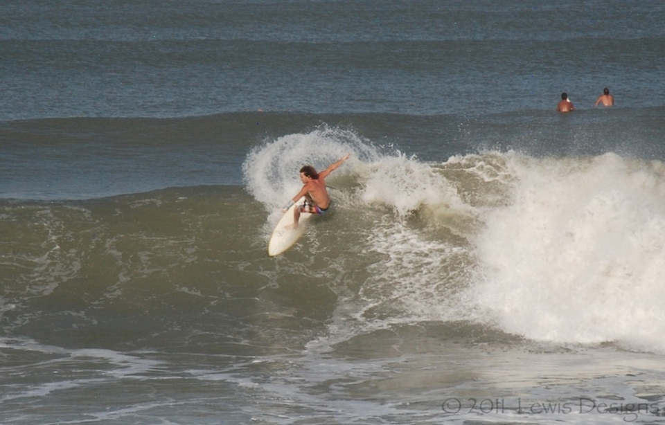 Chucking a bucket at Florida's Satellite Beach.   More  here