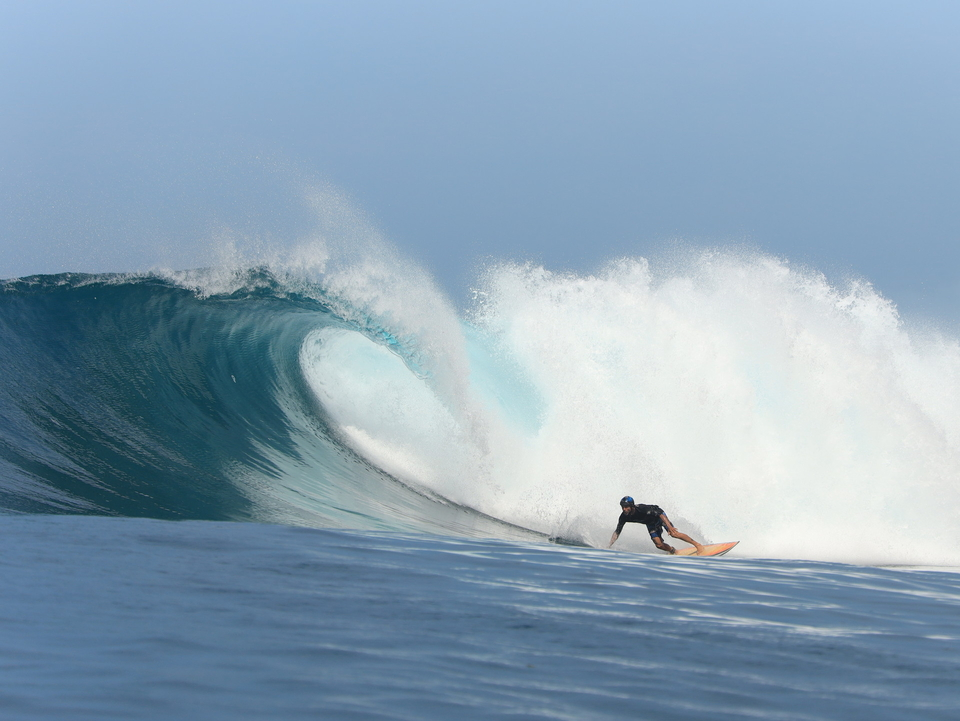 Bonus Bank Vaults session from today as the swell lingered around.