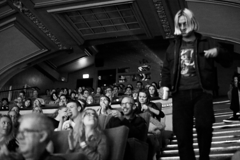 Alex Knost presented the UK debut of his film Tan Madonna a few years back.