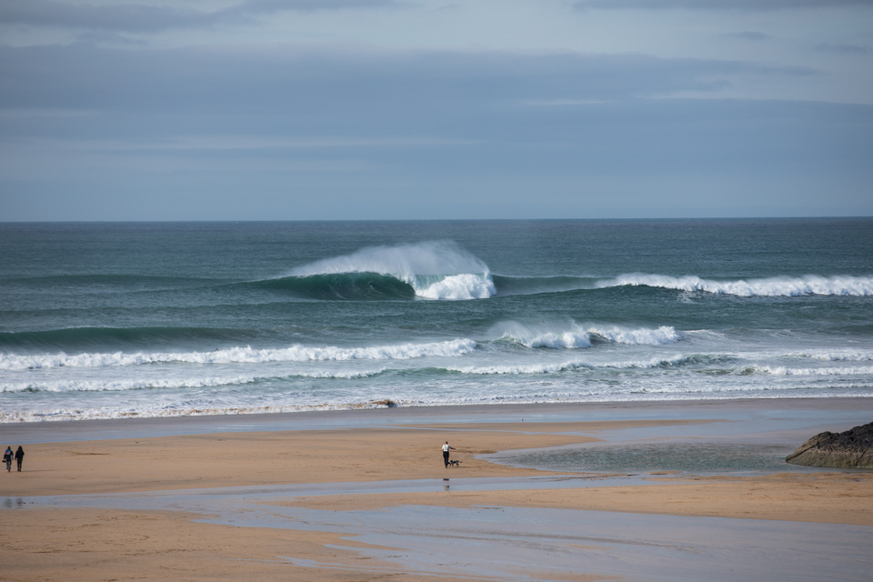 The UK's big wave, The Cribbar. Rarely has it looked so groomed.
