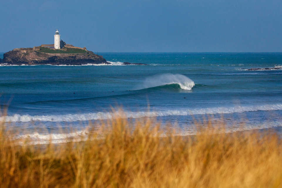 Beaches a touch further west in Cornwall have already been at their busiest ahead of the summer months. Here's from a pristine day, pre-lockdown. Let's keep it like this.