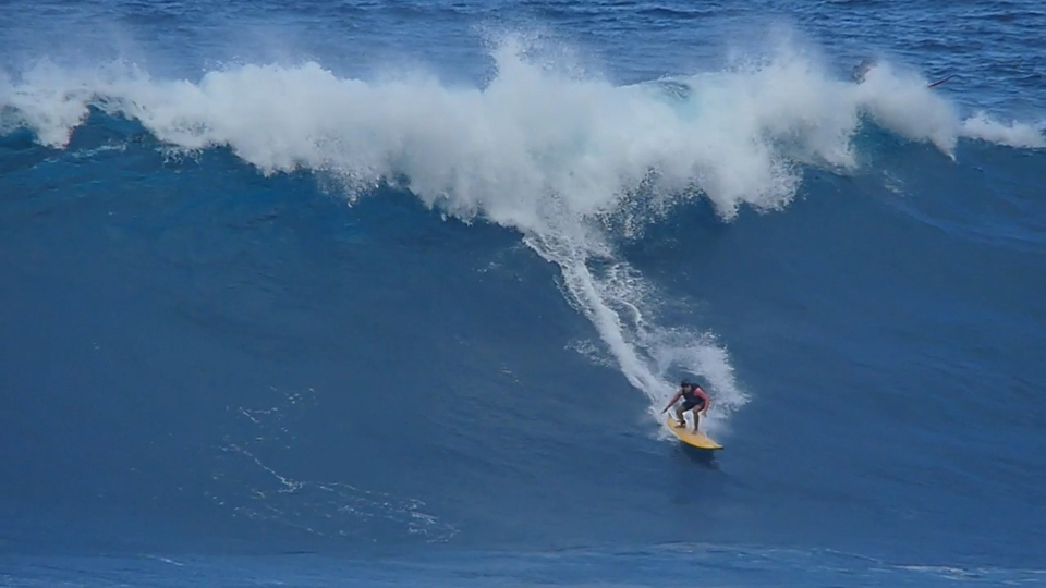 Making a name at Jaws.