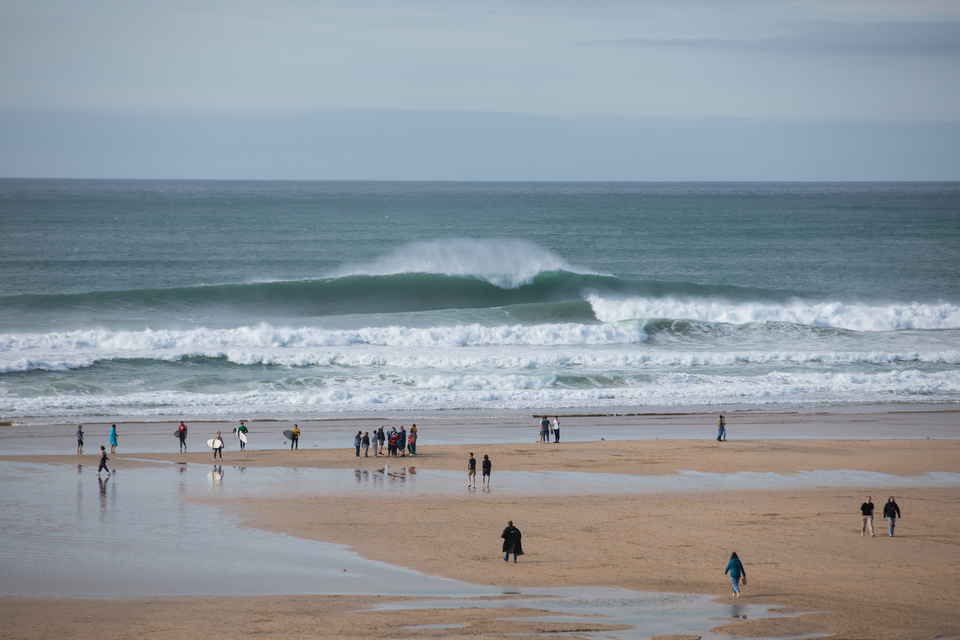 The aforementioned big Fistral.