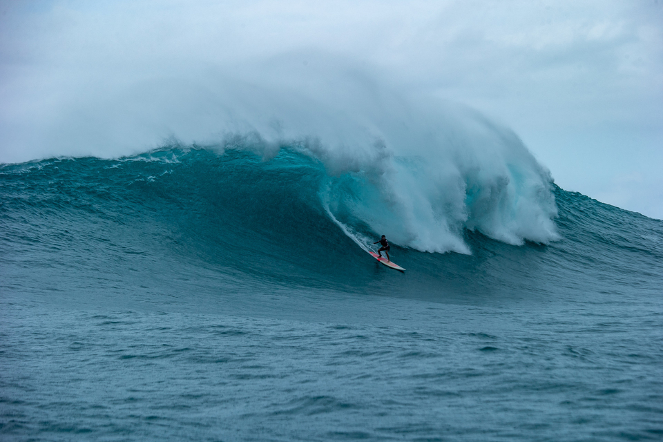Jaws. When no one else wants a part of it, Raquel's right there.