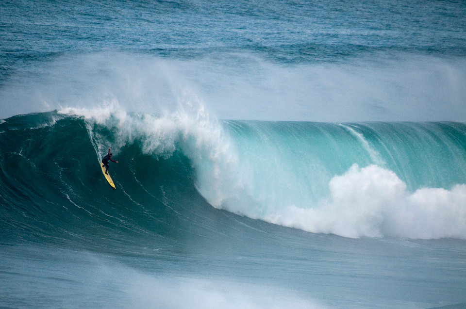 Training is key. Just ask Newquay's Tom Butler who spent last winter prepping for mega swells.