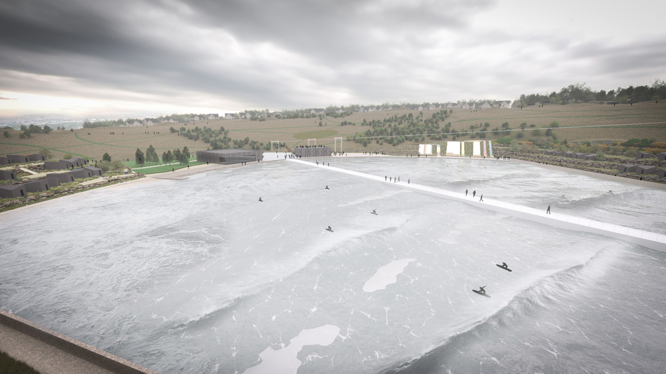 Wavegarden Scotland will come with a viewing platform.