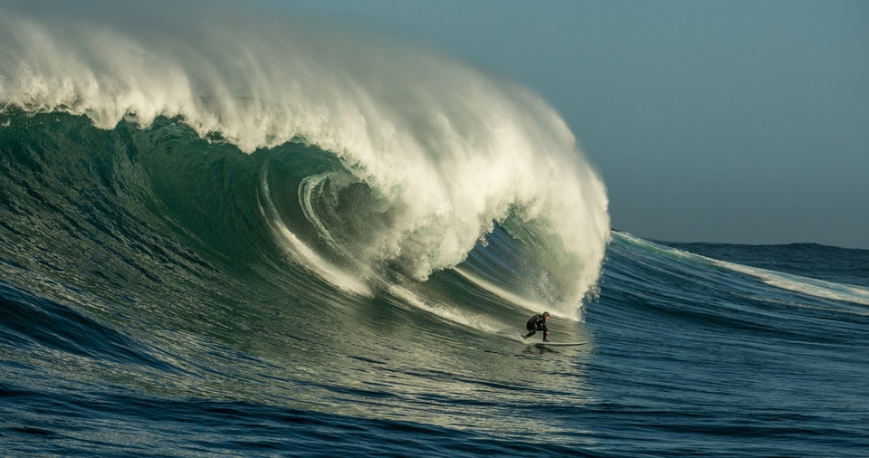 Big wave slaying has its own competition in SA - the REBEL Sessions, put on each year to recognise and honour the country's hellmen.