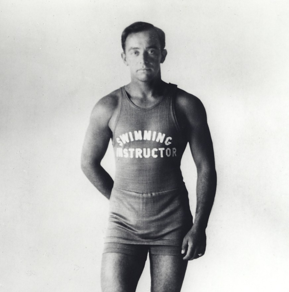 George Freeth, the father of surf for HB.