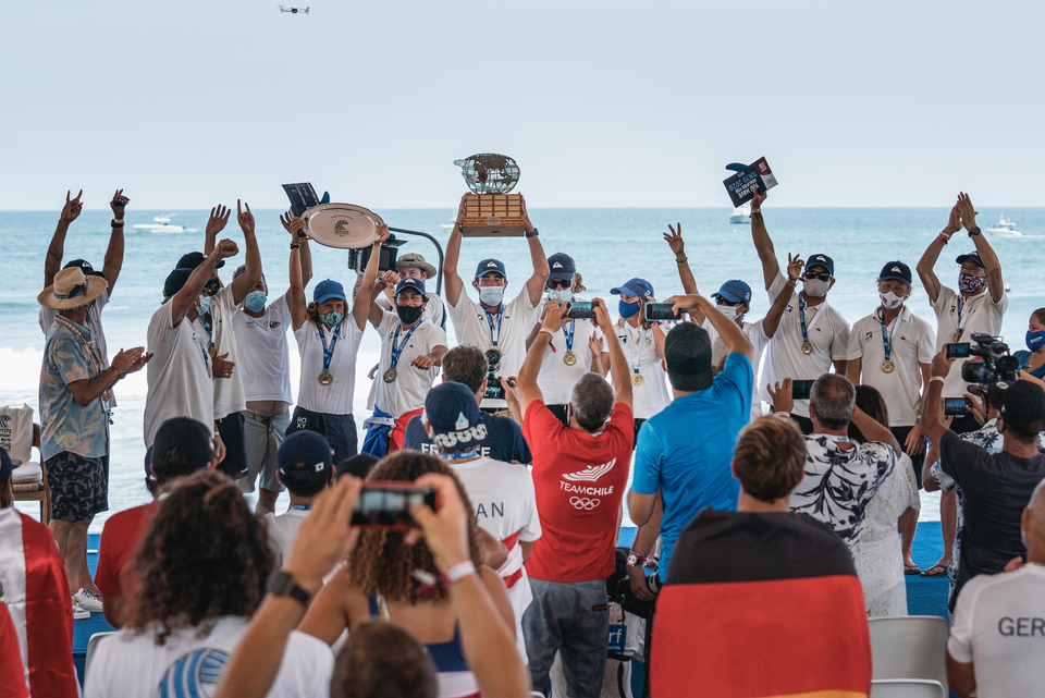 Your ISA World Surfing Games champions.