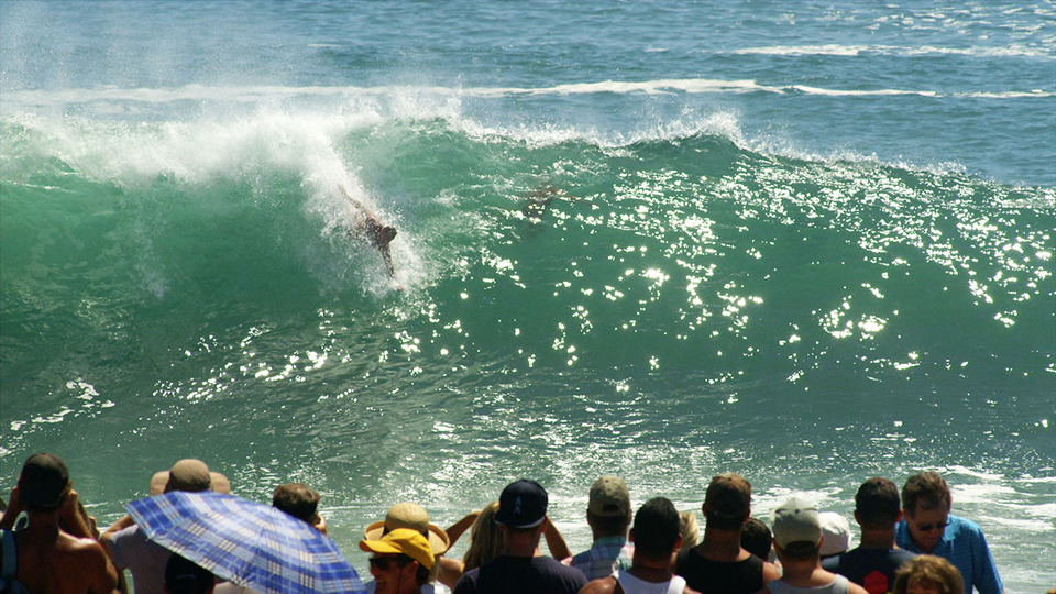 Bodysurfing is an integral part of Wedge culture.